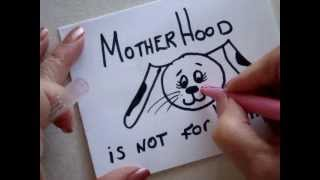 Card-making, Mother's Day Card for Dog lovers, how to diy