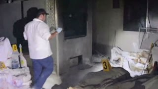 Raw: Abandoned Bodies Found At Funeral Home
