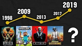 😱COMPARISON OF POPULAR GAMES IN DIFFERENT YEARS 1984-2019