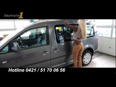 Auto Dachreling1 Dachrelinge PKW Montage Caddy Anleitung für den Einbau