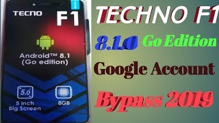 Remove Google Account (FRP) from Tecno L9 Plus (Power Plus) (Android