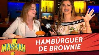 Panelando: Hambúrguer de Brownie - MasBah! SBT RS