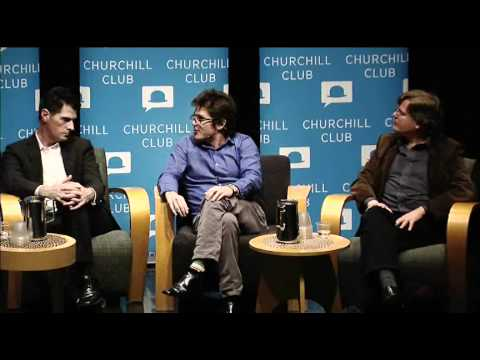 Churchill Club panel on games
