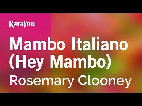 Karaoke Mambo Italiano (Hey Mambo) - Rosemary Clooney *