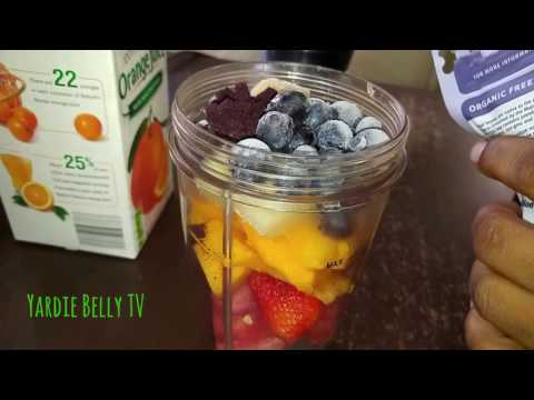 Vegan Foods: Quick and Easy Fresh Fruit Smoothie