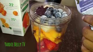 Quick And Easy FRESH FRUIT SMOOTHIE