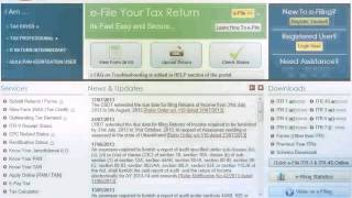 e-Filing Video for Chartered Accountants
