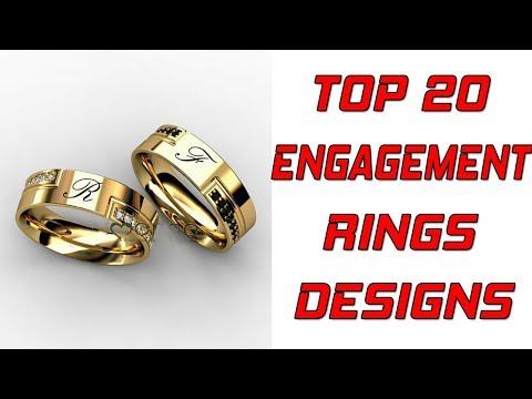 TOP 20 GOLD ENGAGEMENT RING DESIGNS FOR MEN + Gold Wedding Rings for Men || VR CHANNEL ||