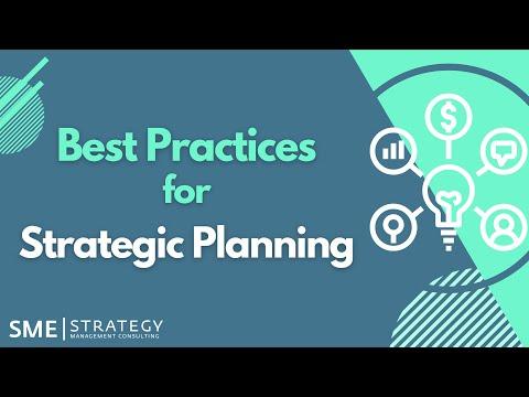 Best Practices for Strategic Planning (Full Workshop) - YouTube