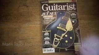 THE MARTIN TAYLOR JOYA - GUITARIST MAGAZINE REVIEW