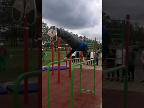 Открытие спортивной площадки-воркаут