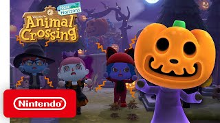 Nintendo Animal Crossing: New Horizons Fall Update anuncio