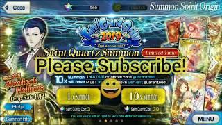 fgo sherlock summon - TH-Clip