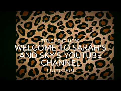 Welcome to are YouTube channel ~sky 10 facts about me