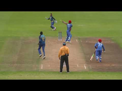 Cricket World TV - Sri Lanka v Afghanistan Highlights | ICC u19 World Cup 2018