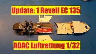 Update:1 Revell EC135 ADAC Luftrettung 1/32 (English subtitles)
