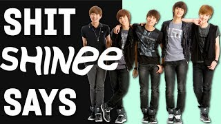 30 minutes of SHINee saying dumb stuff and making weird noises  (#9thAnniversary)