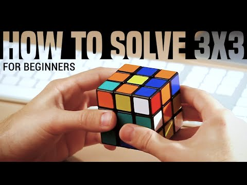 How to Solve a 3x3x3 Rubik's Cube: Easiest Tutorial (High Quality)