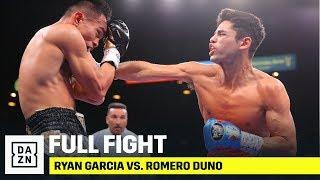 FULL FIGHT | Ryan Garcia vs. Romero Duno