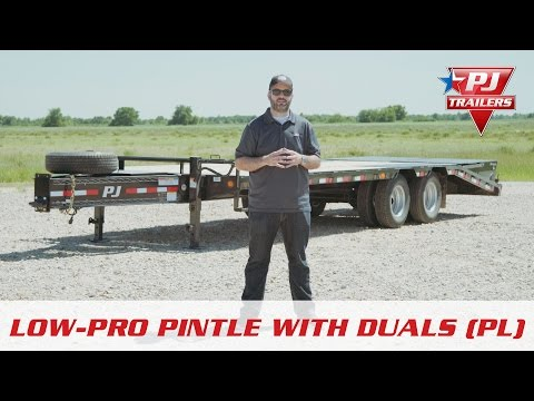 2019 PJ Trailers Low-Pro Pintle with Duals (PL) 28 ft. in Kansas City, Kansas - Video 1