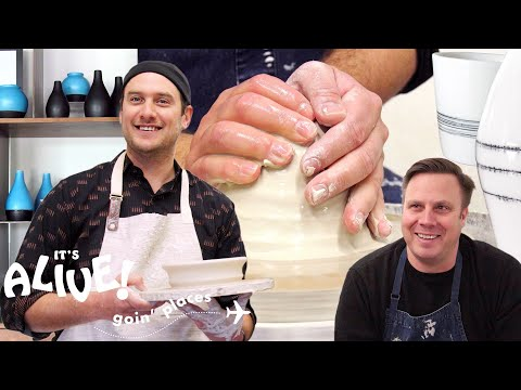 Brad Tries Pottery | It's Alive: Goin' Places | Bon Appétit
