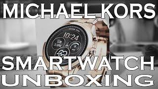 Unboxing MK Smartwatch (Gen 4 Michael Kors Runway in Rose Gold)