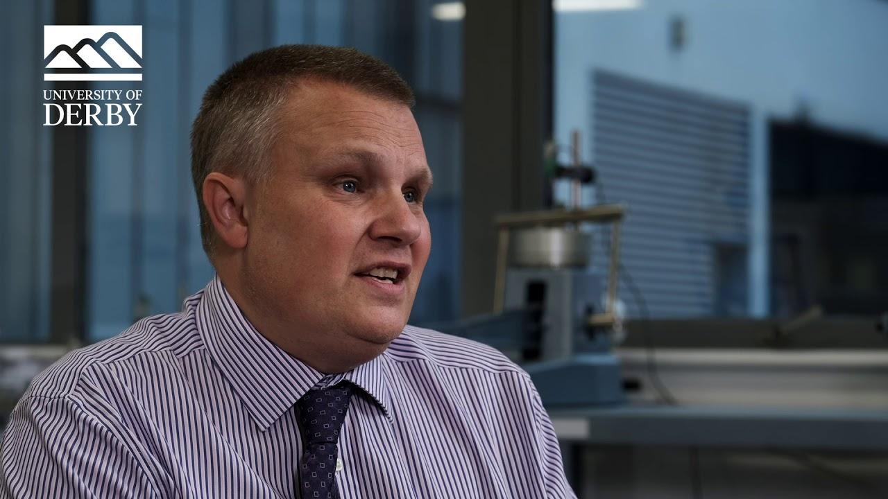 Derek Spalton, Programme Leader in Civil Engineering.