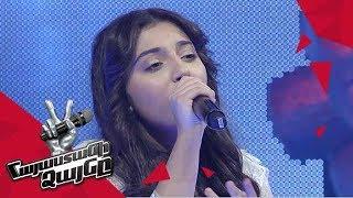 Yeva Abrahamyan sings 'What is love' - Knockout – The Voice of Armenia – Season 4