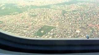 preview picture of video 'LANDING 18R AT LAGOS 11-14-11-UNITED AIRLINES 990 FROM ACC-Accra'