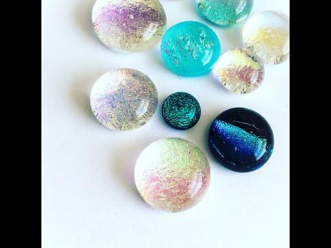 Boho Buffalo Dichroic Glass Colours