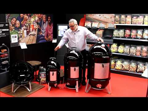 Which Weber® Smokey Mountain Cooker should I buy? 37cm, 47cm or 57cm?