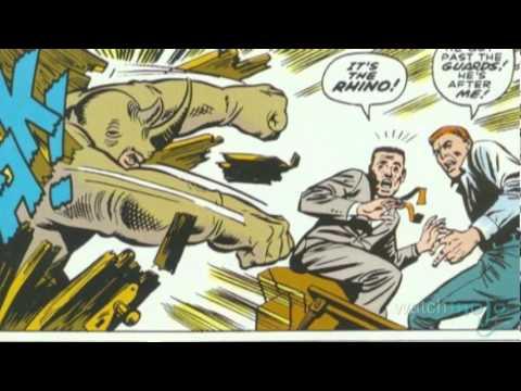 Supervillain Origins of Rhino