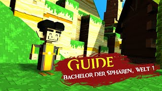 Super Adventure Box - Bachelor der Sphären, Welt 1 [Guide]