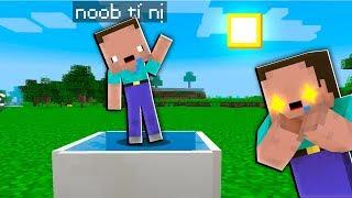 NOOB THỬ THÁCH TẠO RA BẢN SAO TÍ HON CỦA NOOB TRONG MINECRAFT (Huy Noob Minecraft)