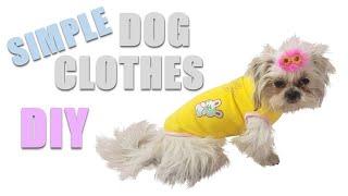 Making Easy Fundamental Dog Shirt