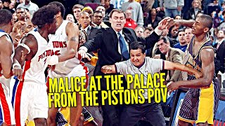 The Malice In The Palace From The Perspective of Ben Wallace & Rasheed Wallace! LGT Ep 12