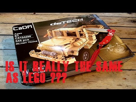 Unbox speedbuild and review this military truck.