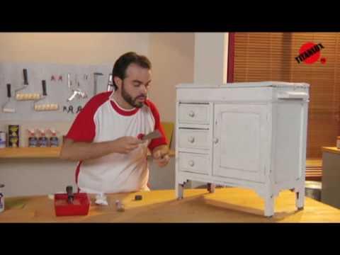 Se puede pintar un mueble de madera ya pintado de fabrica - Restaurar cocina ...