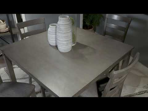 Bridson D383-223 Square Counter Table Set
