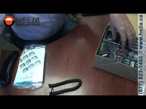 Unboxing the Nortel M7310 Office Desk Phone