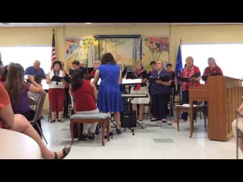 Tamari conducts the Orange Chorale