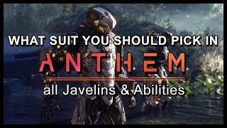 Anthem - All Javelin Abilities & Differences Explained