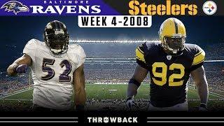 An EPIC Rivalry is Born! (Ravens vs. Steelers 2008, Week 4)