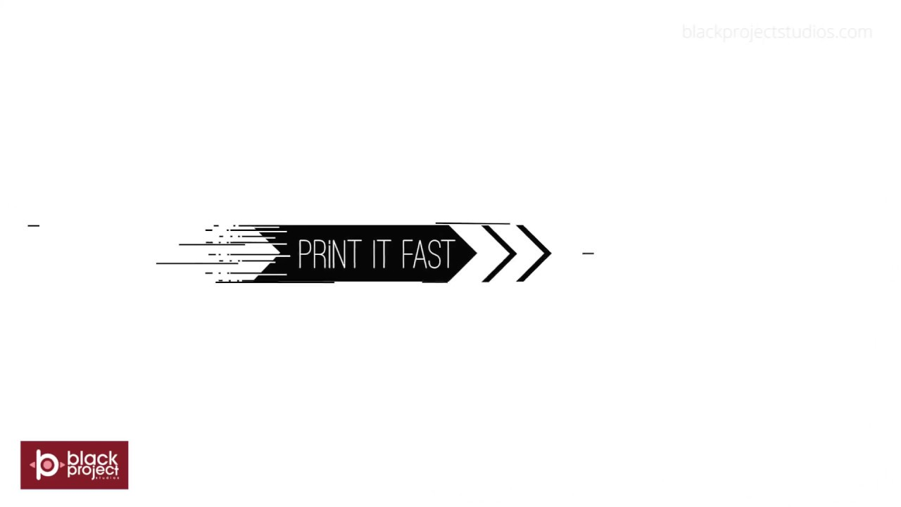 Online Printing Service Animated Video
