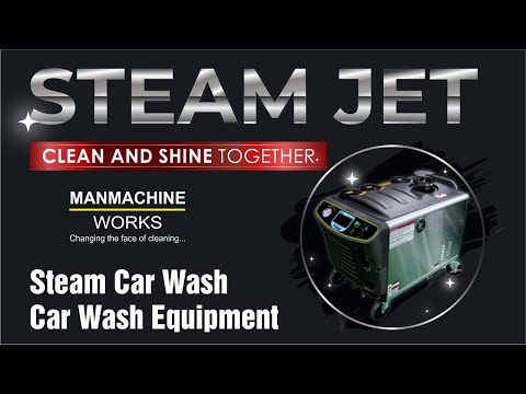 Steam Jet Car Washer