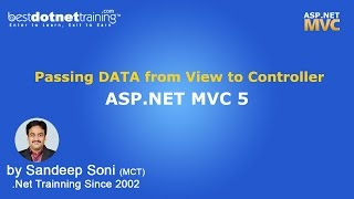 MVC | Passing DATA from Controller to View