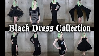 My Gothic Black Dress Collection - 20+ Dresses!