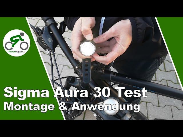 Видео Фары Sigma Sport Aura 30/Curve K-Set