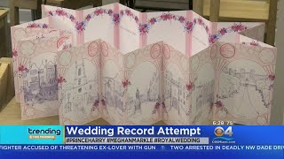 Trending: Wedding Card For The Royal Couple