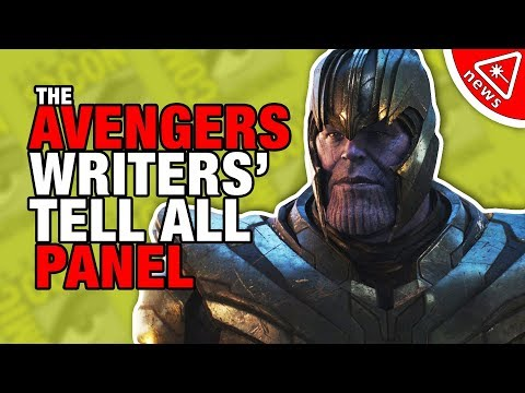 Avengers Writers Reveal the Hidden Endgame & Infinity War Secrets! (Nerdist News w/ Amy Vorpahl)